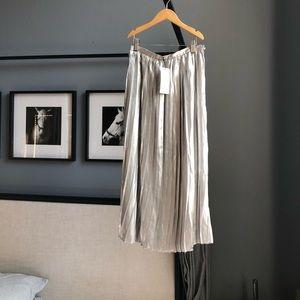 Beautiful silver skirt!
